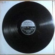 Discos de pizarra: THE TU-TONES. SACCHARIN SALLY/ STILL IN LOVE WITH YOU. LONDON, UK 1958 PIZARRA 10'' 78 RPM. Lote 237956120