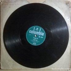 Discos de pizarra: CLYDE RAY. STEADY AS A ROCK/ FOLLOW ME. COLUMBIA, UK 1957 PIZARRA 10'' 78 RPM. Lote 238151370