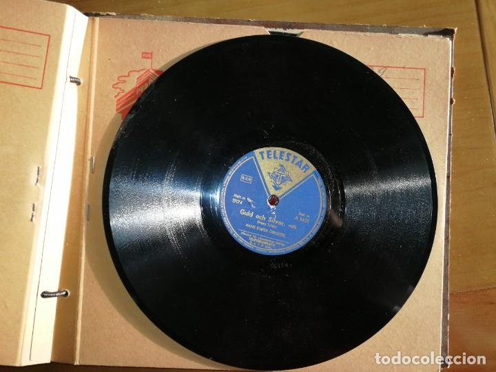 Discos de pizarra: Disco de pizarra Telestar. LUNA-VLAS y GOULDOCH SILVER,vals. HANS BUNDS ORKESTER.W - Foto 2 - 238248775