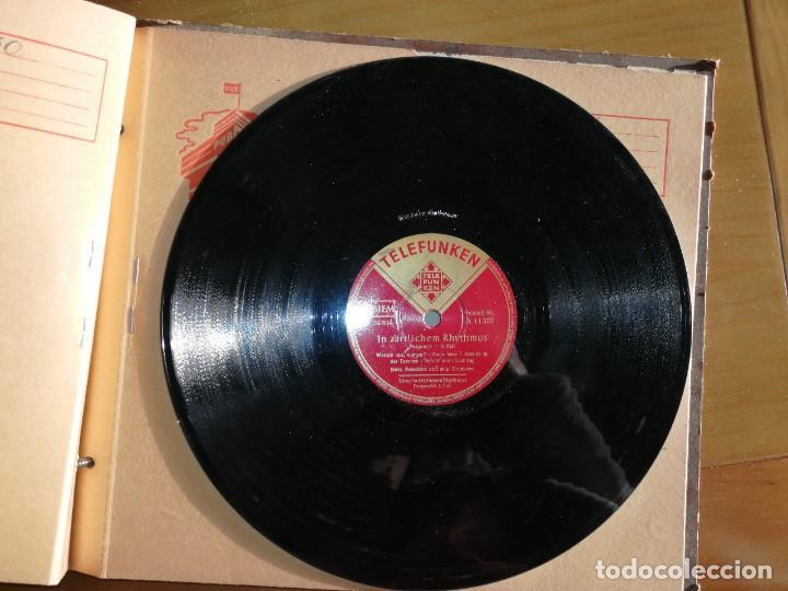 DISCO DE PIZARRA TELEFUNKEN. IN ZÄRTLICHEM RHYTHUMUS.W (Música - Discos - Pizarra - Jazz, Blues, R&B, Soul y Gospel)