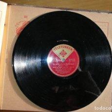 Discos de pizarra: DISCO DE PIZARRA TELEFUNKEN. IN ZÄRTLICHEM RHYTHUMUS.W. Lote 238248965