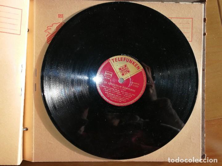 Discos de pizarra: Disco de pizarra Telefunken. IN ZÄRTLICHEM RHYTHUMUS.W - Foto 2 - 238248965