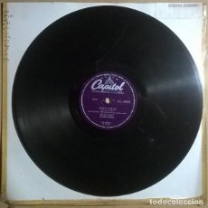 Discos de pizarra: BILLY MAY & THE MAYTIMERS. SUZETTE/ MAIN TITTLE. CAPITOL, UK 1956 PIZARRA 10'' 78 RPM. Lote 238335285