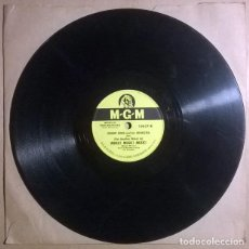 Discos para gramofone: JOHNNY BOND. RAG MOP/ (PUT ANOTHER NICKEL IN ) MUSIC MUSIC MUSIC. MGM, USA 1950 PIZARRA 10'' 78 RPM. Lote 238341655