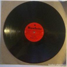 Discos de pizarra: FRANKIE LYMON. THUMB THUMB/ FOOTSTEPS. ROULETTE, USA 1957 PIZARRA 10'' 78 RPM. Lote 238701740