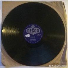 Discos de pizarra: THE CUTTERS. ROCKAROO/ I'VE HAD IT. DECCA, UK 1959 PIZARRA 10'' 78 RPM. Lote 238706950