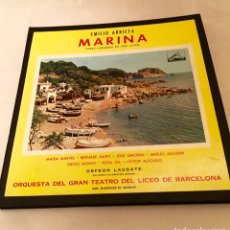 Disques en gomme-laque: OPERA MARINA DE EMILIO ARRIETA. Lote 240260420