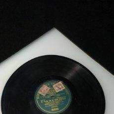 Discos de pizarra: DISCO PIZARRA GRAMOPHONE, EL POETA DE LA VIDA (CALLEJA). Lote 240669100