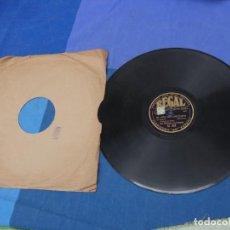 """Disques en gomme-laque: EXPRO DISCO PIZZARRA BUEN ESTADO 12"""" 78 RPM ESPAÑOL EL HOMBRE A QUIEN QUIERO PAUL WHITEMAN Y ORQ. Lote 241021150"""
