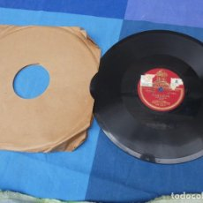 Discos de pizarra: EXPRO DISCO PIZZARRA BUEN ESTADO ESPAÑOL 10 PULGADAS CONCHITA SUPERVIA 1895-1936 CANTICEL-SARDINA. Lote 241024125