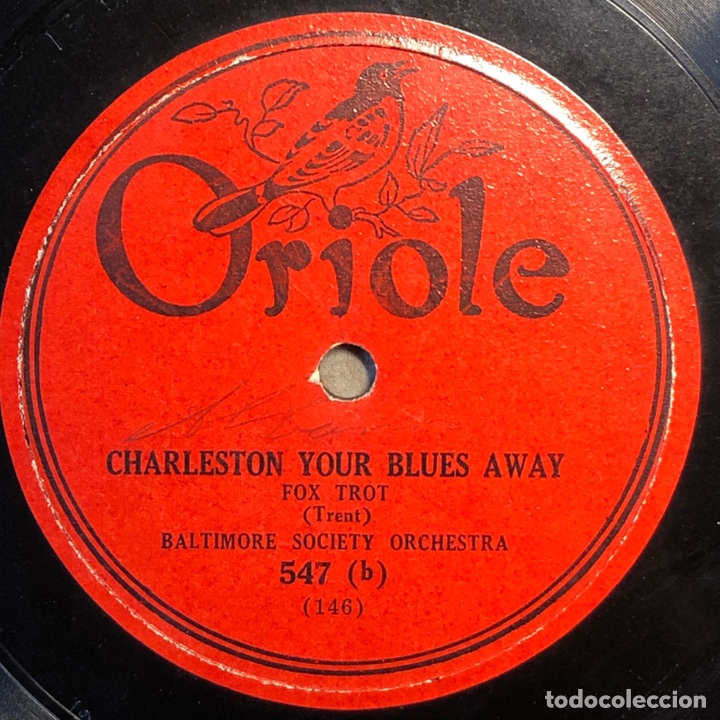 Discos de pizarra: 78 RPM - SIDNEY MITCHELL / GILBERT AND NELSON - THE I'LL BE HAPPY / I ALWSYS THINKING OF YOU - Foto 2 - 241170300