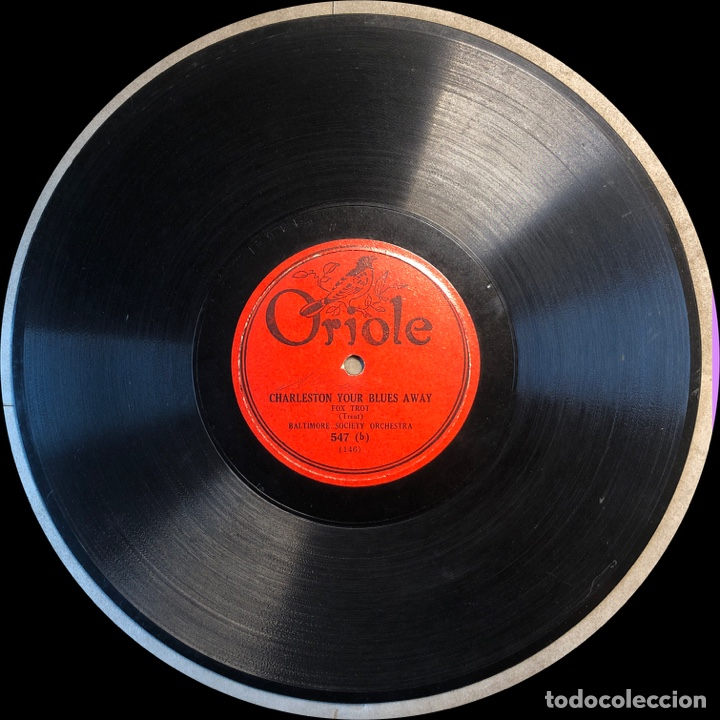 Discos de pizarra: 78 RPM - SIDNEY MITCHELL / GILBERT AND NELSON - THE I'LL BE HAPPY / I ALWSYS THINKING OF YOU - Foto 3 - 241170300