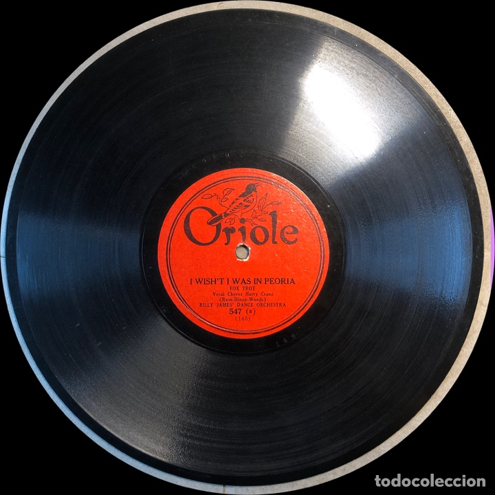 Discos de pizarra: 78 RPM - SIDNEY MITCHELL / GILBERT AND NELSON - THE I'LL BE HAPPY / I ALWSYS THINKING OF YOU - Foto 4 - 241170300