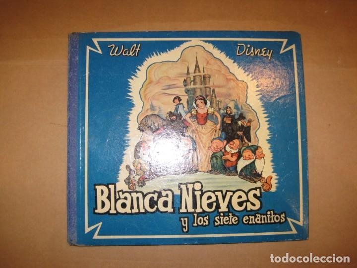 WALT DISNEY-BLANCANIEVES Y LOS SIETE ENANITOS-ALBUM CON 4 DISCOS-LA VOZ DE SU AMO-VER FOTOS(V-22531) (Música - Discos - Pizarra - Bandas Sonoras y Actores )