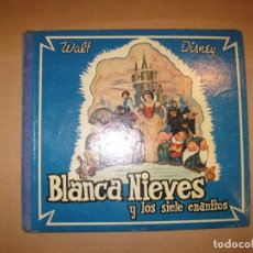 Discos de pizarra: WALT DISNEY-BLANCANIEVES Y LOS SIETE ENANITOS-ALBUM CON 4 DISCOS-LA VOZ DE SU AMO-VER FOTOS(V-22531). Lote 241952645
