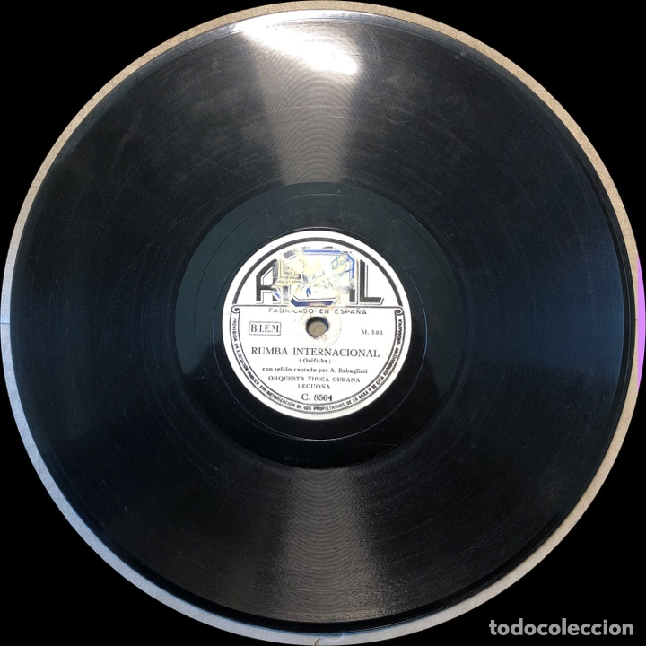 Discos de pizarra: 78 Rpm - Regal - Lecuona Cuba Boys - Antillana / Rumba Internacional - Rumba - Foto 3 - 243357795