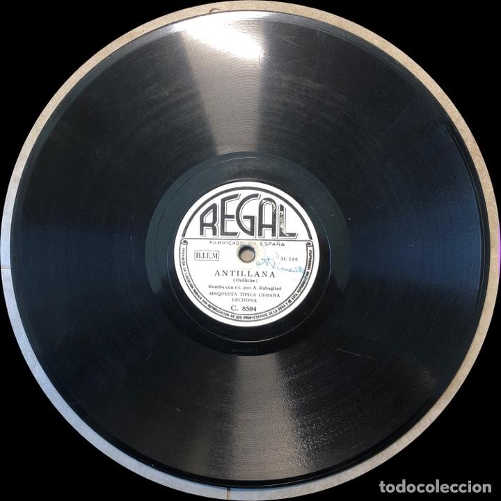 Discos de pizarra: 78 Rpm - Regal - Lecuona Cuba Boys - Antillana / Rumba Internacional - Rumba - Foto 4 - 243357795