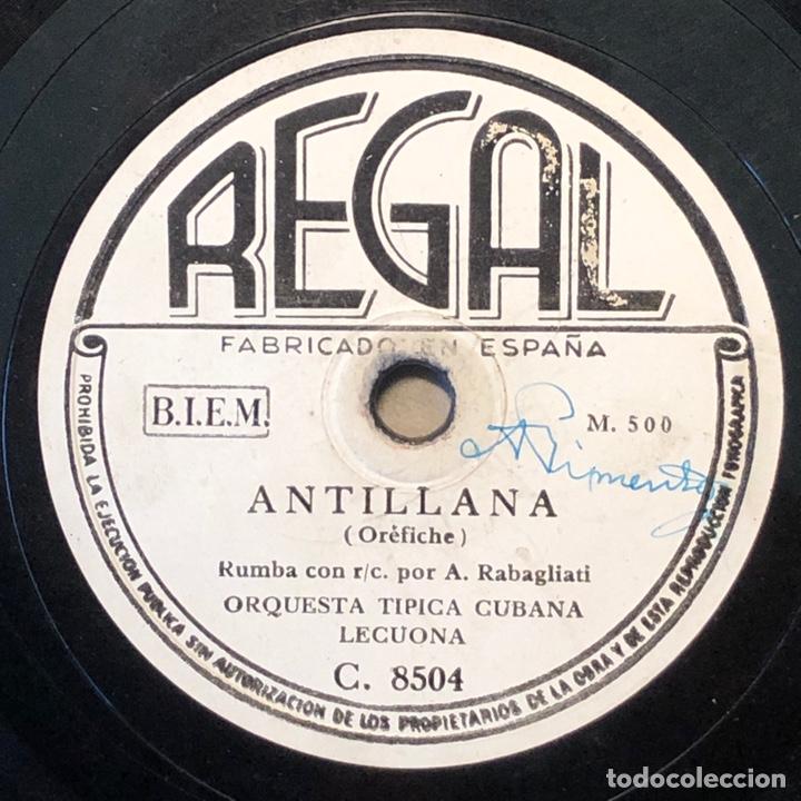 78 RPM - REGAL - LECUONA CUBA BOYS - ANTILLANA / RUMBA INTERNACIONAL - RUMBA (Música - Discos - Pizarra - Solistas Melódicos y Bailables)