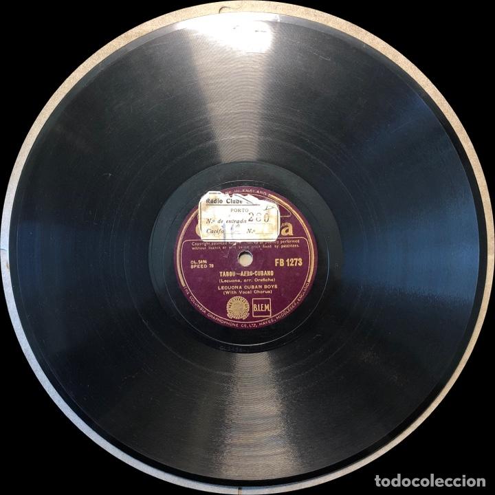 Discos de pizarra: 78 RPM - Columbia-LECUONA CUBAN BOYS - TABOU / AMAPOLA - Rumba - Foto 3 - 243358880