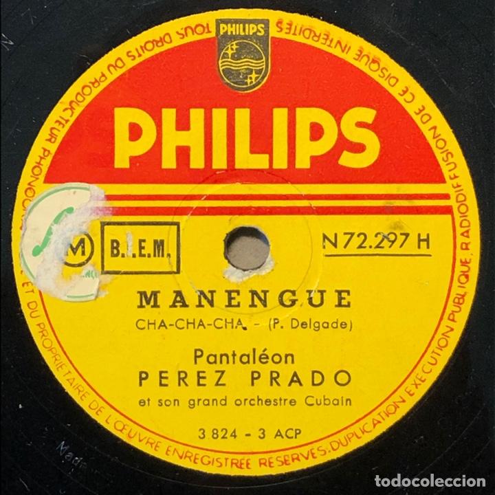 Discos de pizarra: 78 RPM - Perez Prado - Mi Cha Cha Cha / Manengue - Foto 2 - 243370085