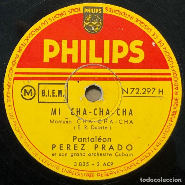 78 RPM - PEREZ PRADO - MI CHA CHA CHA / MANENGUE (Música - Discos - Pizarra - Solistas Melódicos y Bailables)