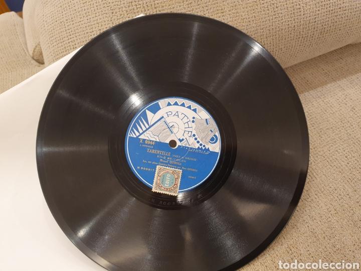 Discos de pizarra: 78 RPM MANUEL QUIROGA SOLO VIOLIN - Foto 6 - 244567425