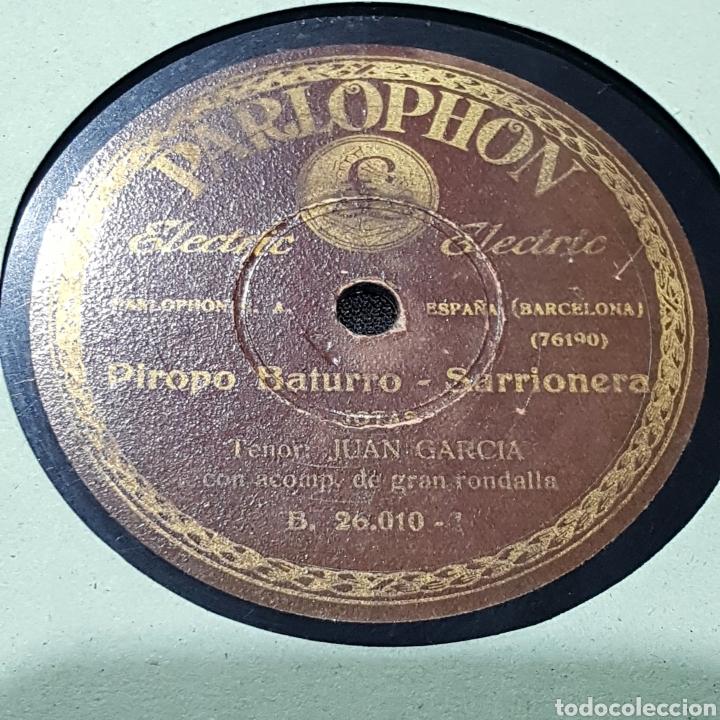 Discos de pizarra: DISCO DE PIZARRA PARLOPHON/ LA RONDA QUE PASA - Foto 4 - 244648145