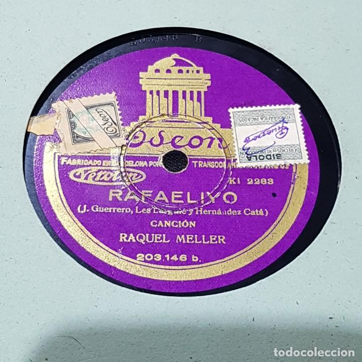 Discos de pizarra: DISCO DE PIZARRA OSEON/RAFAELIYO - Foto 2 - 244651610