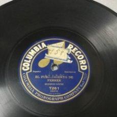 Discos de pizarra: EL FUSILAMIENTO DE FERRER. GRABADO CA. 1910. DESCRIPTIVO HISTORIA ESPAÑA. Lote 244651640