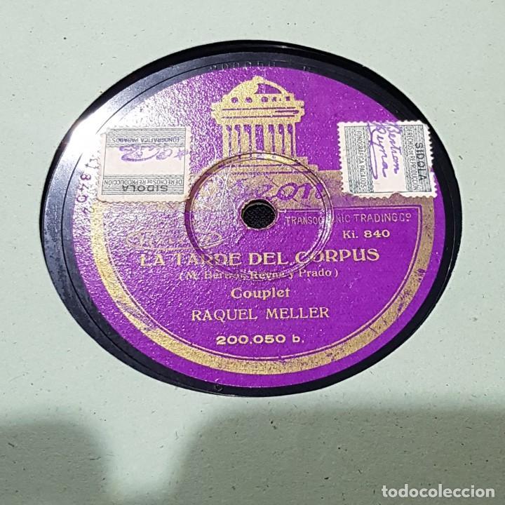 Discos de pizarra: DISCO DE PIZARRA OSEON/LA TARDE DEL CORPUS - Foto 2 - 244652815