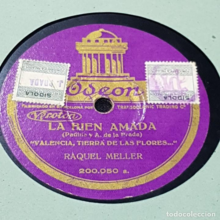 Discos de pizarra: DISCO DE PIZARRA OSEON/LA TARDE DEL CORPUS - Foto 4 - 244652815