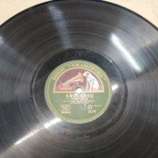 Discos de pizarra: DISCO 78RPM GUERRITA- SOLEARES/MEDIA GRANADINA. Lote 245213025