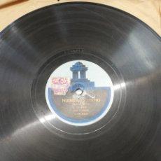 Discos de pizarra: DISCO 78RPM DUO CARLOS GARDEL Y RAZZANO- LA TACUARITA/NUBES DE HUMO. Lote 245215370