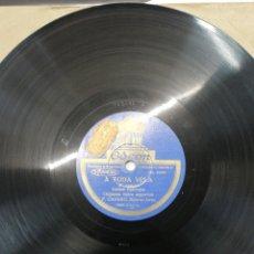 Discos de pizarra: DISCO 78RPM F. CANARO (BUENOS AIRES) CHINGOLITO/A TODA VELA.. Lote 245217030
