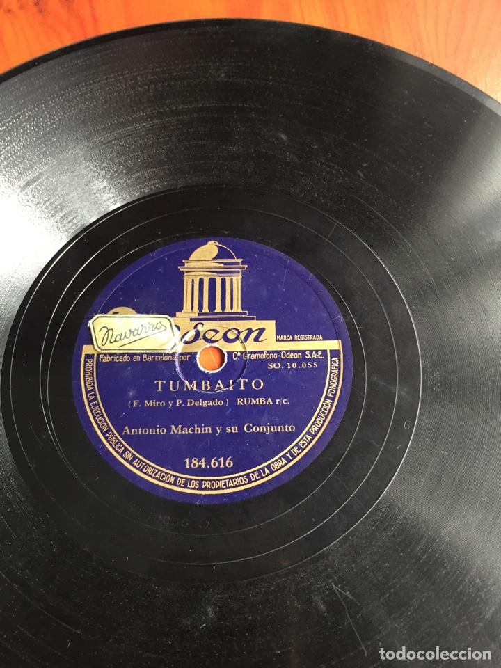 Discos de pizarra: Tumbaito rumba Antonio machin - Foto 2 - 246911930