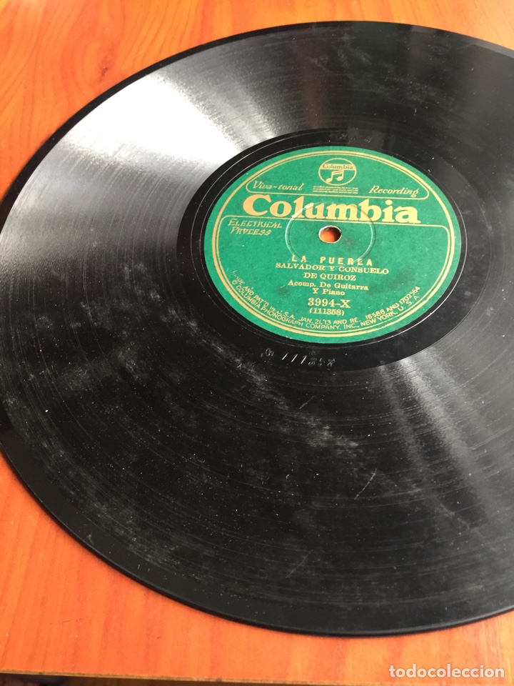 Discos de pizarra: La puerea Salvador y consuelo de Quiroz - Foto 3 - 246912580