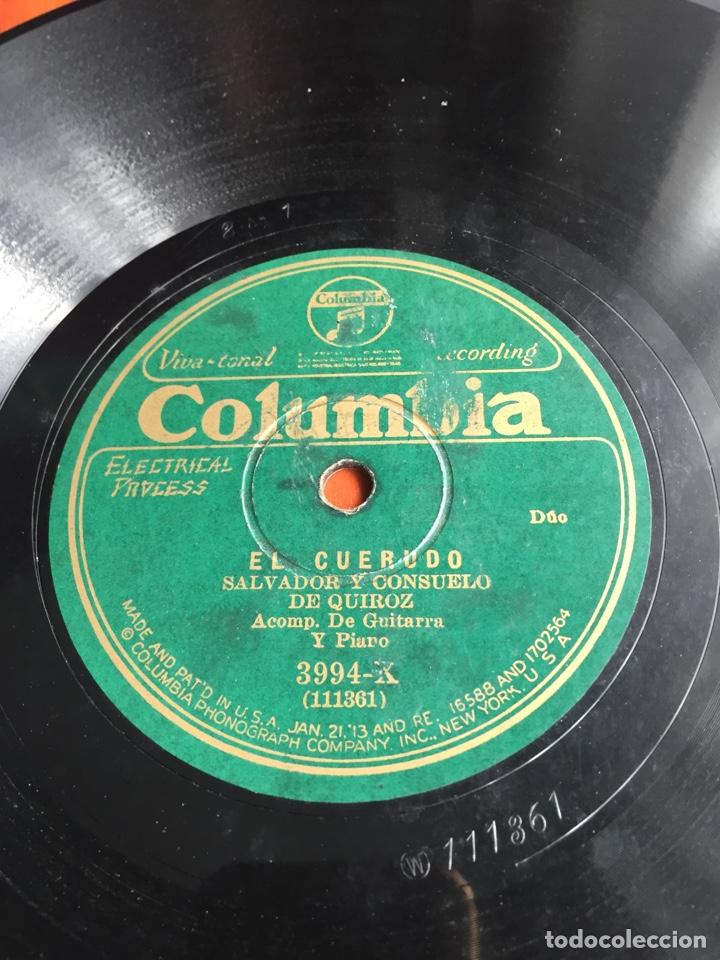 Discos de pizarra: La puerea Salvador y consuelo de Quiroz - Foto 4 - 246912580