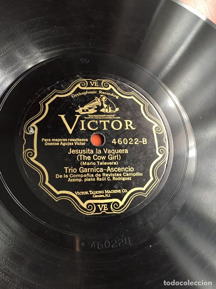 JESUSITA LA VAQUERA TRIO GARNICA ASCENCIO (Música - Discos - Pizarra - Jazz, Blues, R&B, Soul y Gospel)