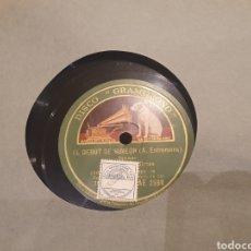Discos de pizarra: 78 RPM CASIMIRO ORTAS. Lote 247407440