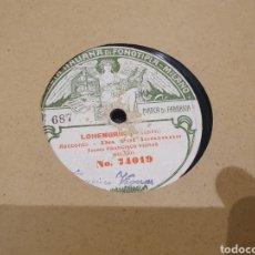Discos de pizarra: 78 RPM FRANCISCO VIGNAS. Lote 247599325