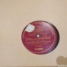 Discos de pizarra: 78 RPM OPERA CELESTINA BONINSEGNA. Lote 247602365