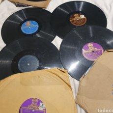 Discos de pizarra: LOTE 78 RPM CARLOS GARDEL. Lote 247677995