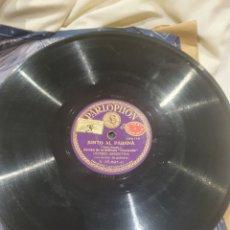 Discos de pizarra: IMPERIO ARGENTINA 78 RPM PARLOPHON. Lote 247758485