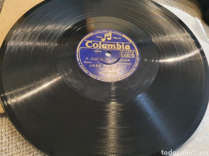 Discos de pizarra: 78 RPM ASTURIANO EL PRESI - Foto 2 - 248753025