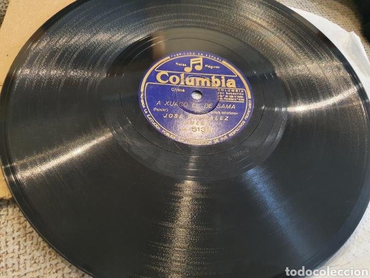 Discos de pizarra: 78 RPM ASTURIANO EL PRESI - Foto 3 - 248753025
