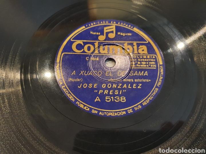 78 RPM ASTURIANO EL PRESI (Música - Discos - Pizarra - Flamenco, Canción española y Cuplé)