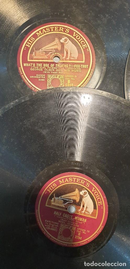 Discos de pizarra: Lote de 31 discos de pizarra artistas ingleses - Foto 2 - 249319890