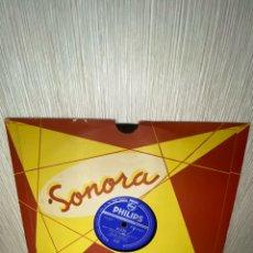 Discos de pizarra: ANTIGUO DISCO DE PIZARRA EN BUEN ESTADO. Lote 249392465