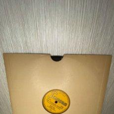 Discos de pizarra: ANTIGUO DISCO DE PIZARRA EN BUEN ESTADO. Lote 249394175