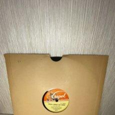 Discos de pizarra: ANTIGUO DISCO DE PIZARRA EN BUEN ESTADO. Lote 249395540